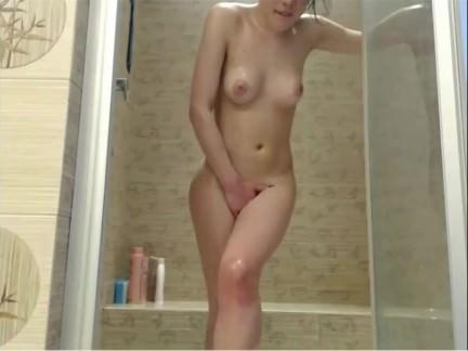 Shower Show tits, pussy, ass, oiled up, Yana Chala Odessa Ukraine CamWhore